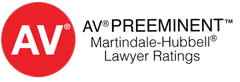 AV rated by Martindale Hubbell
